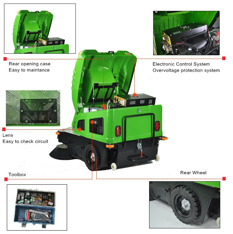 China band automatic sweeper Machine