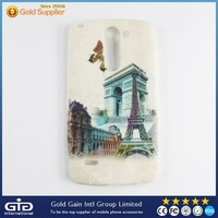 New Designed TPU Leather Back Case For LG G3 Stylus D690