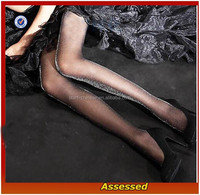 2015 Wholesale Ladies Sexy Tights /Black Sheer Sexy Lady Shining Stockings/full body pantyhose/Always Leggings---AMY15324