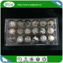 wholesale plastic quail egg tray packaging egg cartons for sale