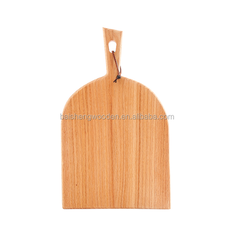 Custom kitchenware knives accessories oak wood cheese cutting board