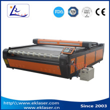 auto feeding system co2 laser cutting machine for fabric layer garment