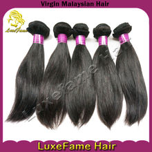 Most popular hair product sell on alibaba smooth and soft lustrous virgin malaysian straight hair