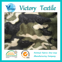 Textile 100% Polyester China Supplier Free Sample 2016 China Army Print Coral Fleece Fabric