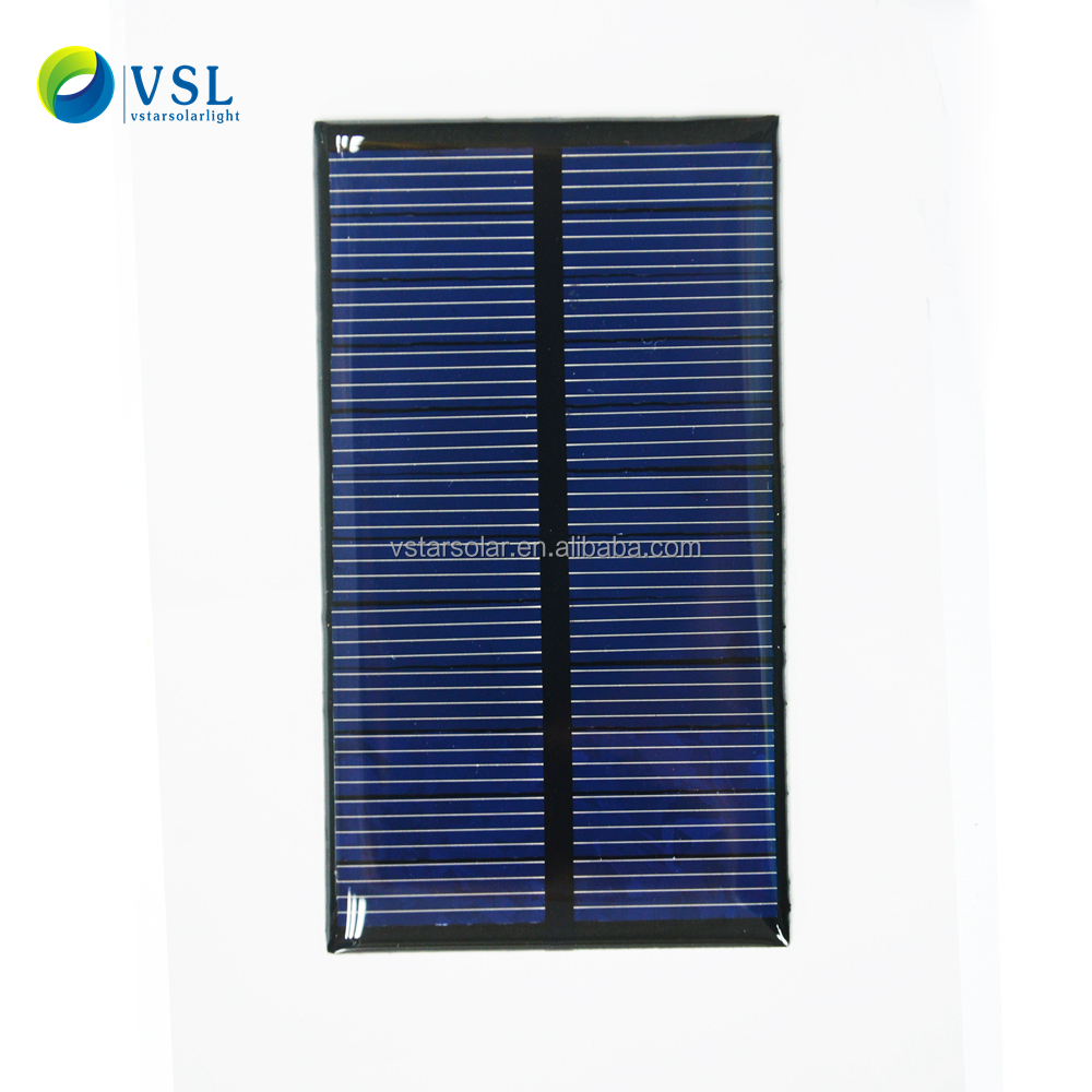 1v 2v 3v 5v 6v 0.5w 1w 2w Customized mini epoxy Solar Panel for charging Li-ion battery