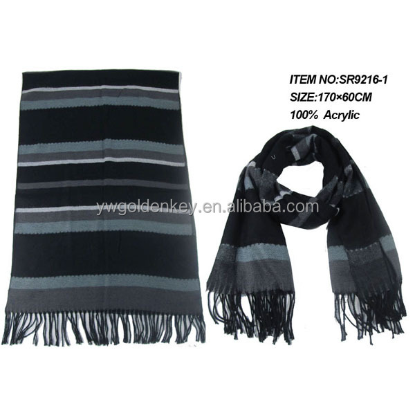 lady acrylic scarves new design suitable for women