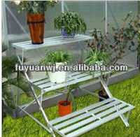 outdoor tiered plant stands (factory)