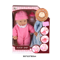 14 inch sweet silicone reborn baby doll model for children