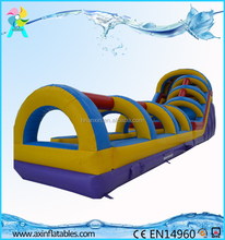 New Amusement Park Giant Inflatable Slip And Slide For Adult
