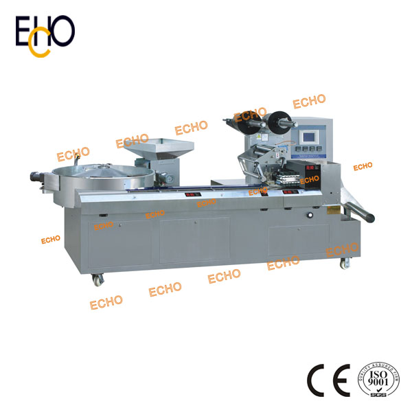 Pillow Type Packaging Machinery For Candy DXD-1200
