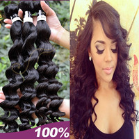 Alibaba wholesale raw 100% unprocessed virgin Indian remy hair natural black hair dye
