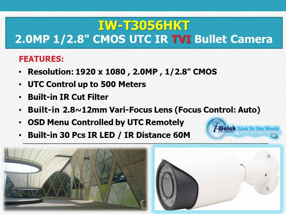 IW-T3056HKT 1080P Long Range Night Vision TVI CCTV Camera