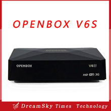 Original Openbox V6S Mini Digital Satellite Receiver with AV HD output 2xUSB WEB TV USB Wifi 3G Biss Key CCCAMD NEWCAMD MGCAMD