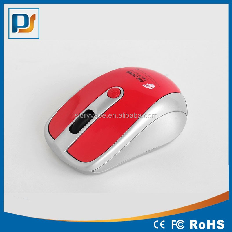 New PMS color 2.4GHz Wireless Optical Mouse Mice with mini receiver for PC Laptop+USB 2.0 Receiver