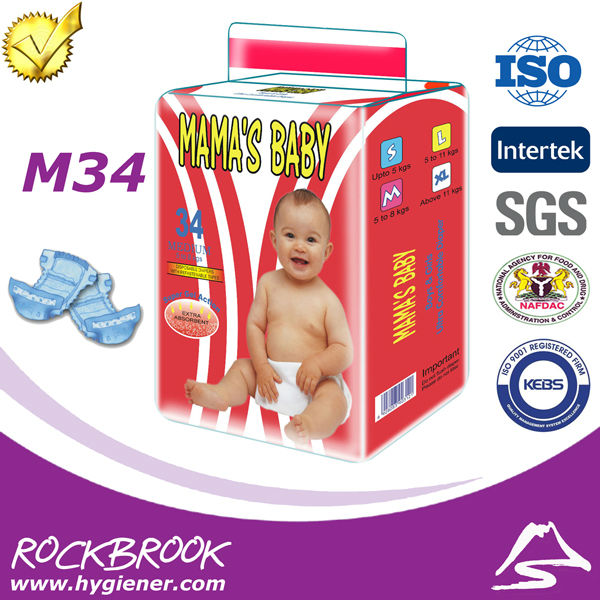 Good Quality Competitive Price Disposable Giggles Maxi Baby Diaper Manufacturer from China