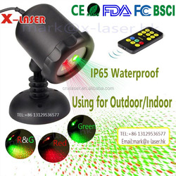Hot new waterpoof starry firefly twinkling outdoor laser garden light