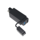 Quick Charge Car Motorcycle Wireless Battery Mobile Phone Charger 5v 9V 12V 3A Cell Phone SAE To Dual Usb Car Charger