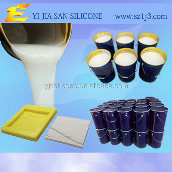 artificial stone molded rubber molds making liquid silicone