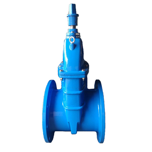 DI resilient seated wedge gate valve with JIS 7.5K flange
