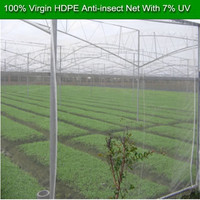 Greenhouse plastic roll 8 / 20 / 25 / 30 / 40 / 50 / 60 mesh hdpe anti insect net 30 - 200g plastic pe insect proof net on sale