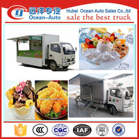 Dongfeng commercial hot dog cart,design fast food cart,folding food cart