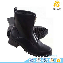 Warmly Multi-function shoes Winner Front Zipper Plush Inner Ankle wide Boot