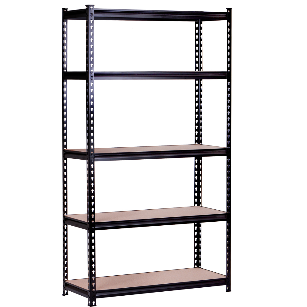 Multifunctional 5 Tiers Boltless Light Duty Storage Warehouse Steel Rack <strong>Shelf</strong>