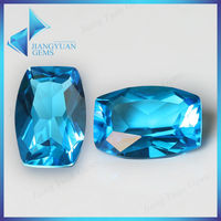 Barrel shape glass prices of rough aquamarine