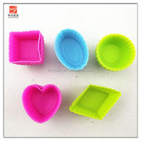 S-B021 popular nice design heart shape colorful cheesecake cake pans