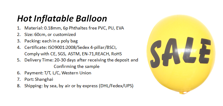 Hot Inflatable Balloon