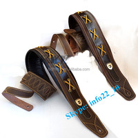 2015 leather custom guitar strap electric guitar strap