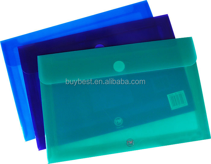 A4 plastic file document holder
