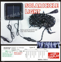outdoor icicle type garden decorative solar led light