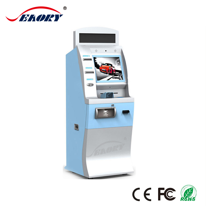 self service bank atm machine/ bank airport currency exchange machine