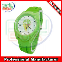 2014 hot selling silicone watch football watch world cup watch