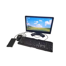 Mobile phone for computer VGA + HDMI + type C mobile computer LCD monitor instead of extended support keyboard and mouse