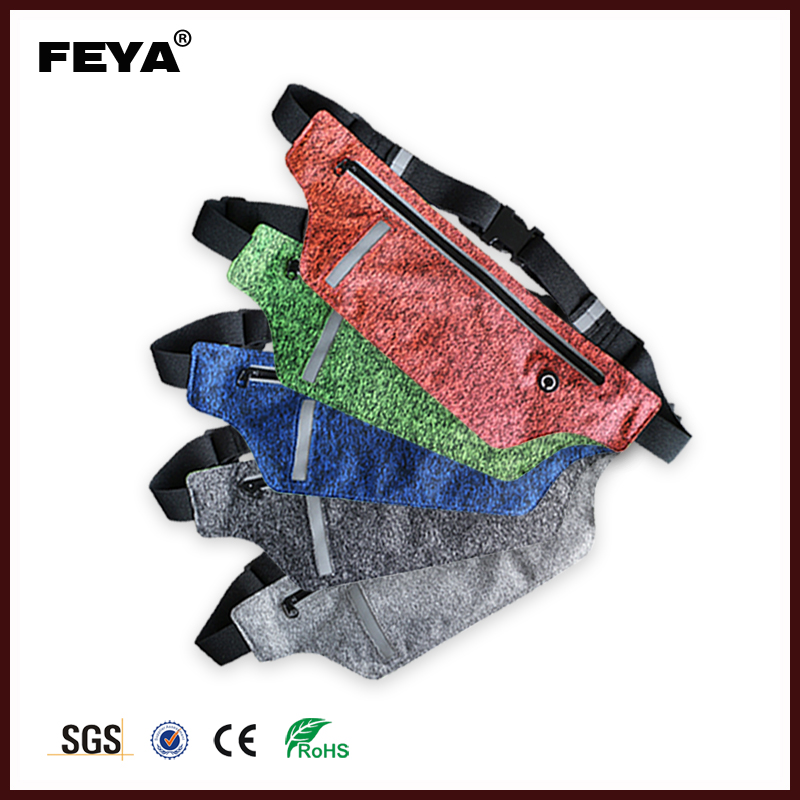 New arrival of Lycra waist bag with money belt Ultra thin running belt