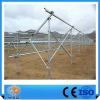hot sales factory supplier solar power system steel structure