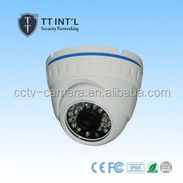 Outdoor Vandalproof IP Dome IR Night Vision Camera FCC,CE,ROHS Certification gsm alarm systems