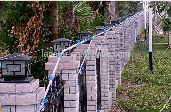 Lanstar new appearance electric fence energizer for perimeter security fencing system, with anti-cut and anti-touching function