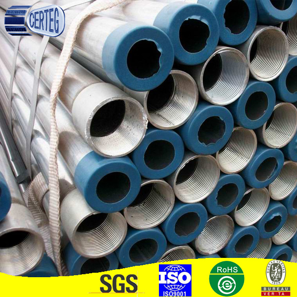 scaffoldings used hot dipped galvanized steel pipe/tube