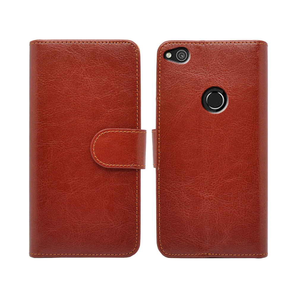 Flip cover for huawei p8 lite 2017 leather phone case