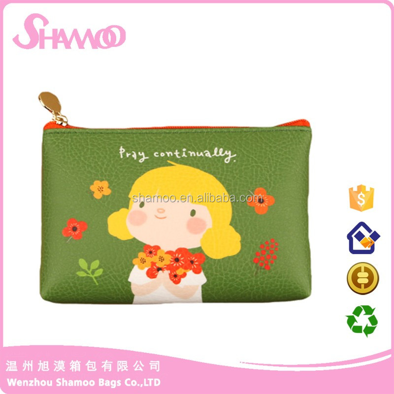hot sales cotton Material and Bag Type makeup Pen Case pouch recycle bag