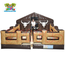 Commercial kids and adult mechanical rodeo bull machine inflatable mechanical bull for sale