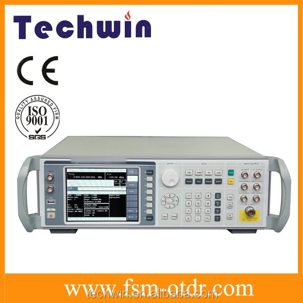 Techwin RF Signal Generator with Large LCD Operation Interface