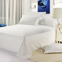 New Designer White Bed Sheets For Hotel