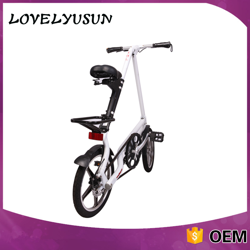 Outdoor Sporting Full Suspension Folding Bicycle