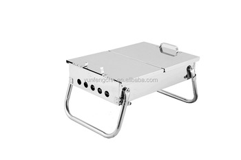 Outdoor hiking easy carry barbecue grill