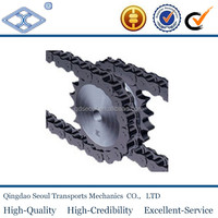 specification standard stainless steel Industrial roller chain sprocket wheel ASA40 1/2''X5/16''
