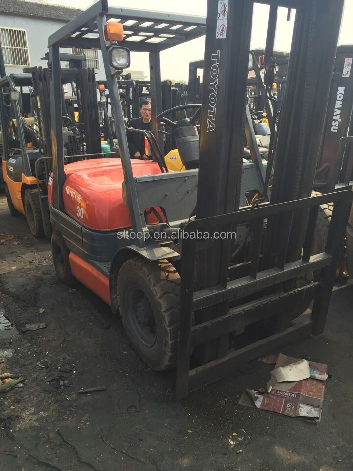 TOYOTA Make and Used Condition used forklift